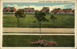 Officers' Quarterse, Fort Ontario