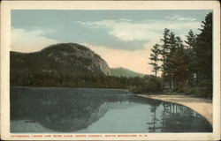 Cathedral Ledge and Echo Lake, White Mountains