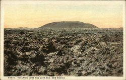 Volcanic Cone and Lava Bed