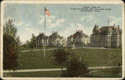 Front View of Ohio Soldiers and Sailors Home