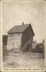 Brown County Log Jail, Built 1837