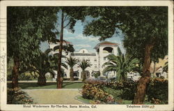Hotel Windermere By-The-Sea Postcard