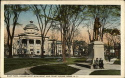 East Park, Gansevoort Monument and Court House