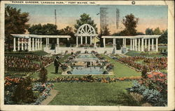 Sunken Gardens at Lakeside Park