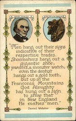 Daniel Webster and the Old Man of the Mountains