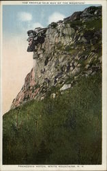 "The Profile ""Old Man of the Mountain"""
