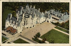 Aeroplane View of Biltmore Mansion