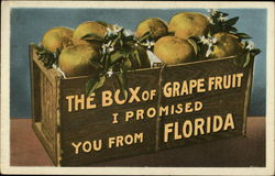 Box of Grapefruit from Florida