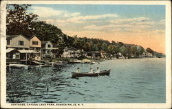 Cottages, Cayuga Lake Park