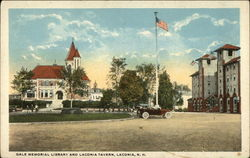 Gale Memorial Library and Laconia Tavern