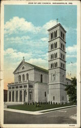 Joan of Arc Church Postcard