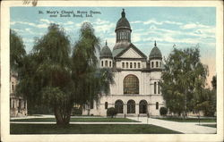 St. Mary's Chapel, Notre Dame