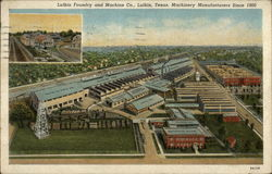 Lufkin Foundry and Machine Co Postcard