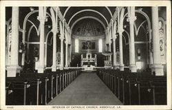 Interior of Catholic Church