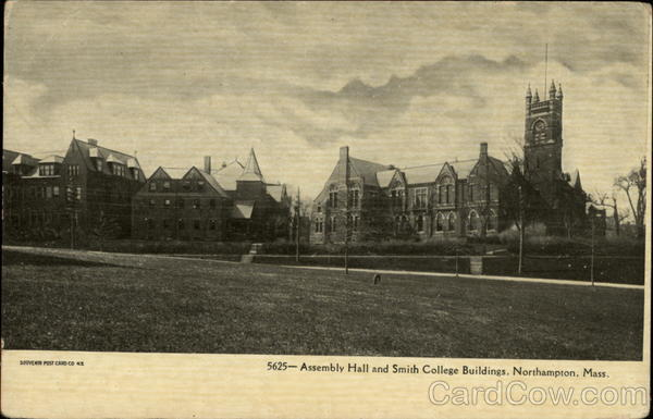 Assemby Hall and Smith College Buildings Northampton Massachusetts