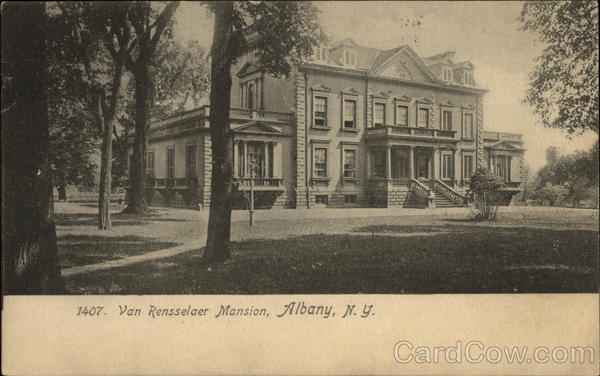 Van Rensselaer Mansion Albany New York