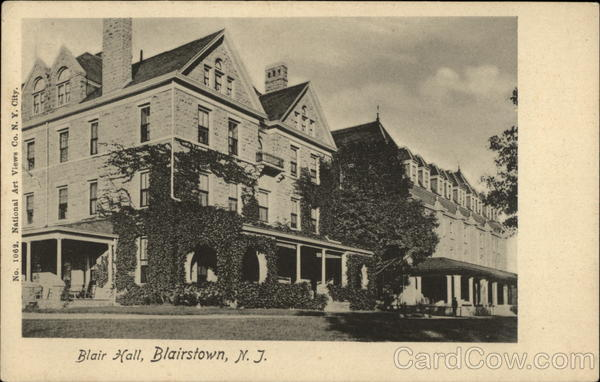 Blair Hall Blairstown New Jersey