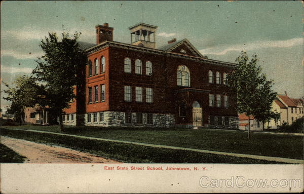 East State Street School Johnstown New York
