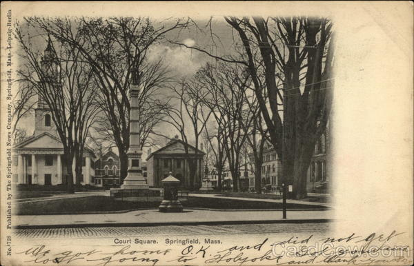Court Square Springfield Massachusetts