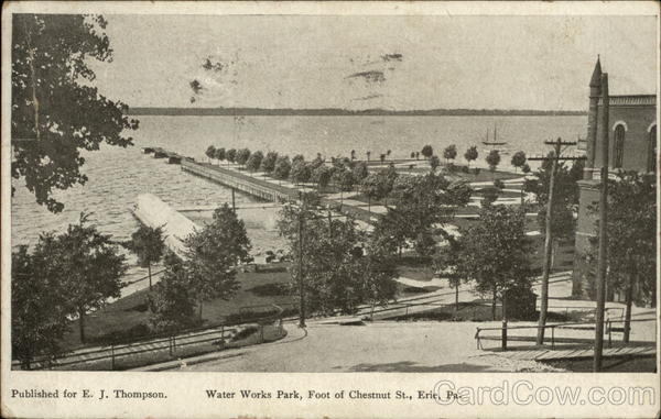 Water Works Park, Foot of Chestnut St Erie Pennsylvania
