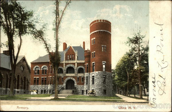 Armory Utica New York