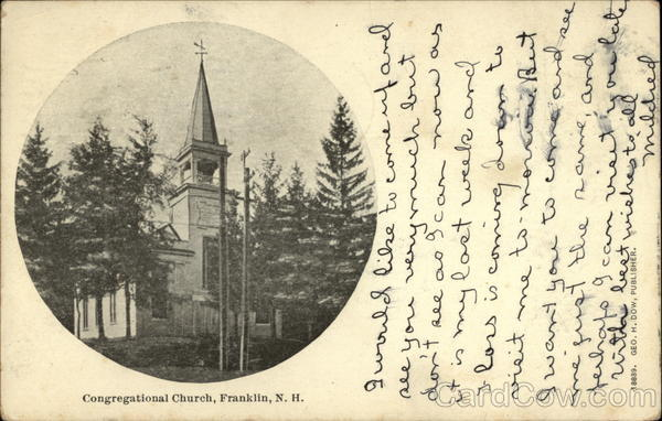 Congregational Church Franklin New Hampshire