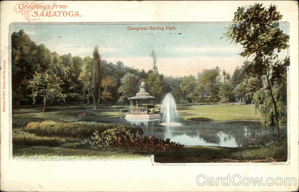 Congress Spring Park Saratoga California