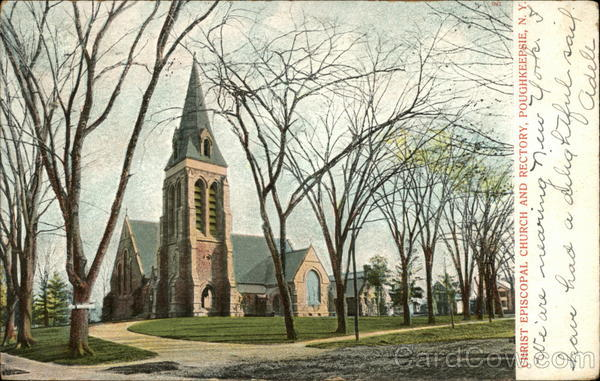 Christ Episcopal Church and Rectory Poughkeepsie New York