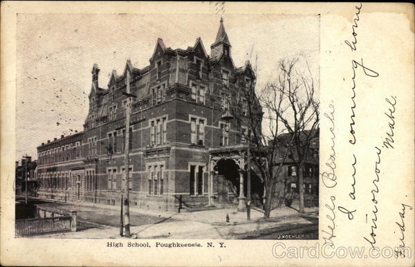 High School Poughkeepsie New York