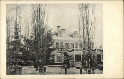 Residence of Dr. E.L. Trudeau