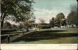 Smith College grounds showing Observatory