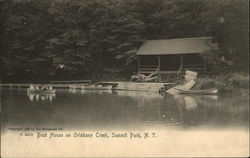 Boat House on Oriskany Creek