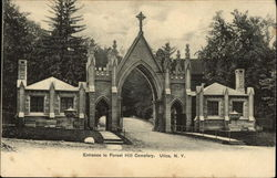 Entrance to Forest Hill Cemetery