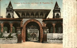 Entrance to Ponce De Leon Hotel