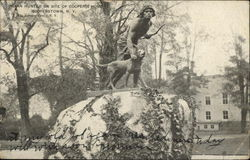 Indian Hunter on Site of Cooper's Home