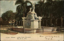 Indian Queen Monument Postcard