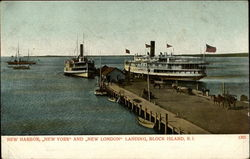 "New Harbor, ""New York"" and ""New London"" landing"