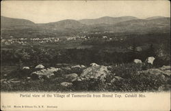 Partial View of Village from Rount Top, Catskill Mts
