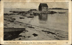 From the North Shore Looking to Chebeague Island Postcard