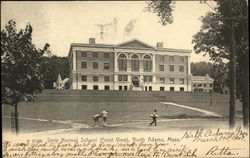 State Normal School, Front View Postcard