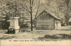 Indian Council House and Tomb of Mary Jamison