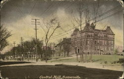 Central Hill Postcard