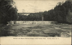 Mohaw and Malone Bridge across Trenton Falls
