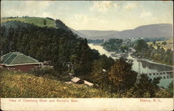 View of Chemung River and Rorick's Glen