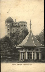 Scene of Gazebo Postcard