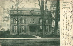 Old Residence of Gov. Geo. Clinton