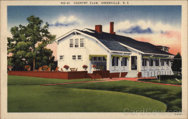 Country Club Greenville South Carolina
