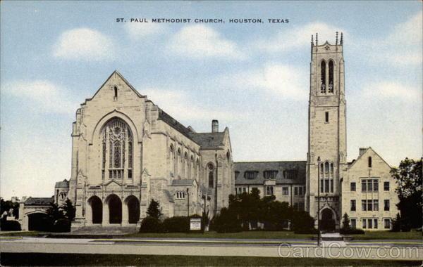 St  Paul Methodist Church Houston, TX