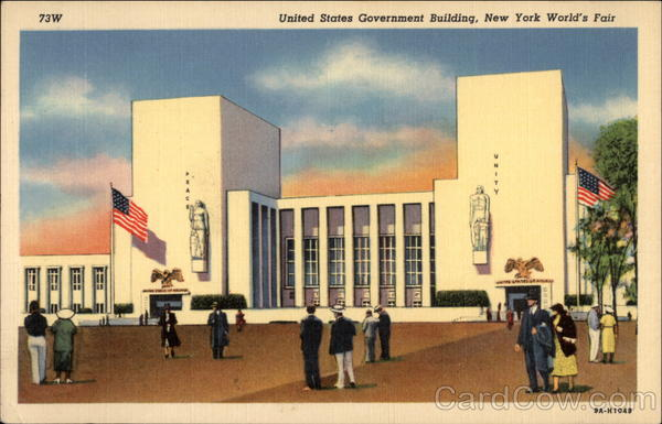 United States Government Building, New York World's Fair New York City
