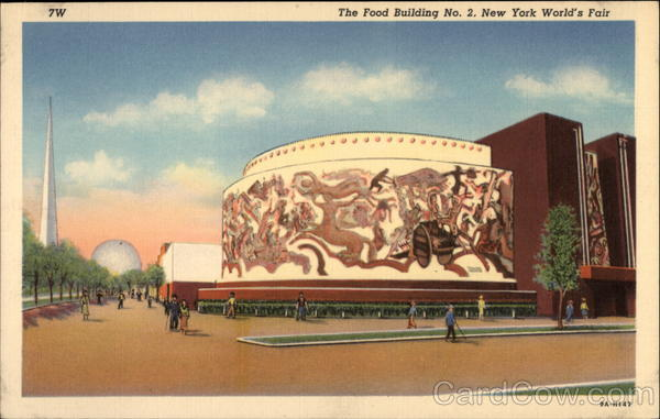 The Food Building NO. 2, New York World's Fair New York City